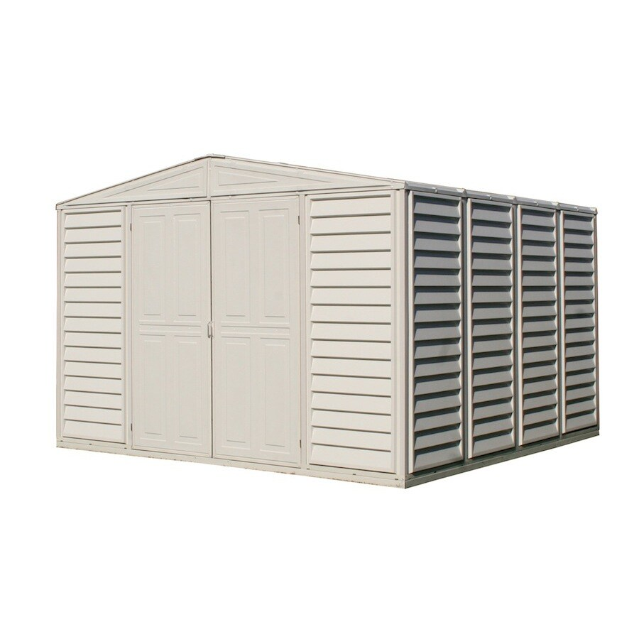 DuraMax Building Products Storage Shed (Common: 10-ft x 10-ft; Actual Interior Dimensions: 10.46-ft x 10.28-ft)
