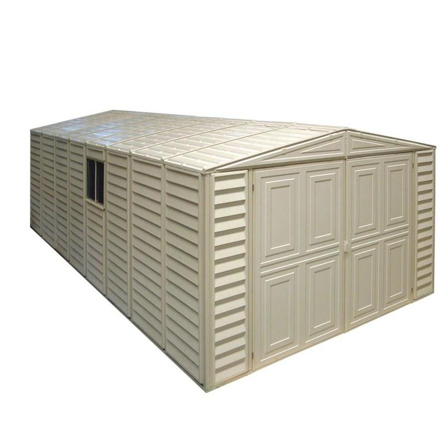DuraMax Building Products Storage Shed (Common: 10-ft x 21-ft; Actual Interior Dimensions: 10.46-ft x 20.68-ft)