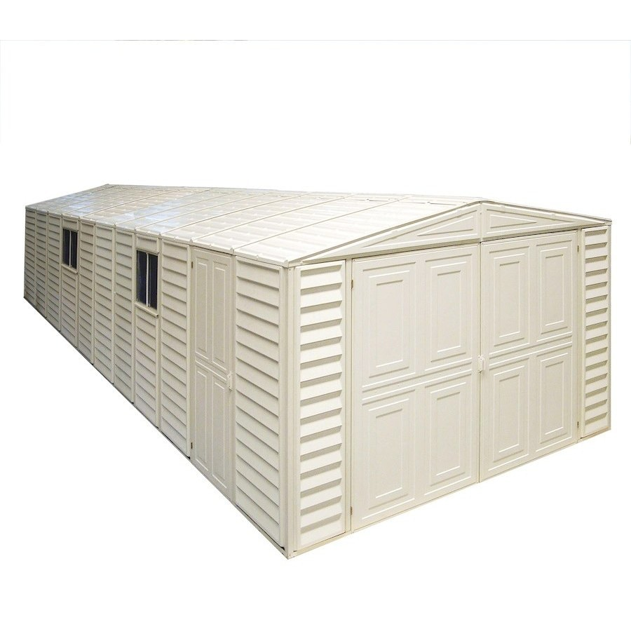 DuraMax Building Products Storage Shed (Common: 10-ft x 23-ft; Actual Interior Dimensions: 10.46-ft x 23.2-ft)