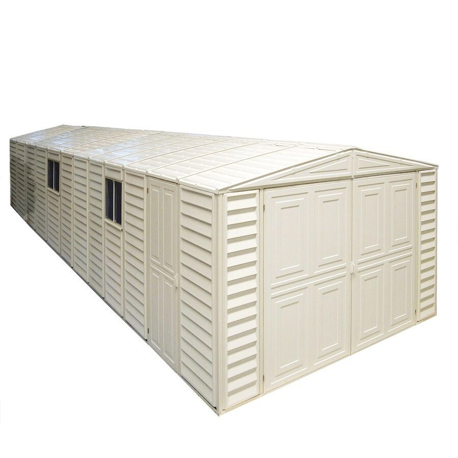 DuraMax Building Products Storage Shed (Common: 10-ft x 26-ft; Actual Interior Dimensions: 10.46-ft x 25.83-ft)