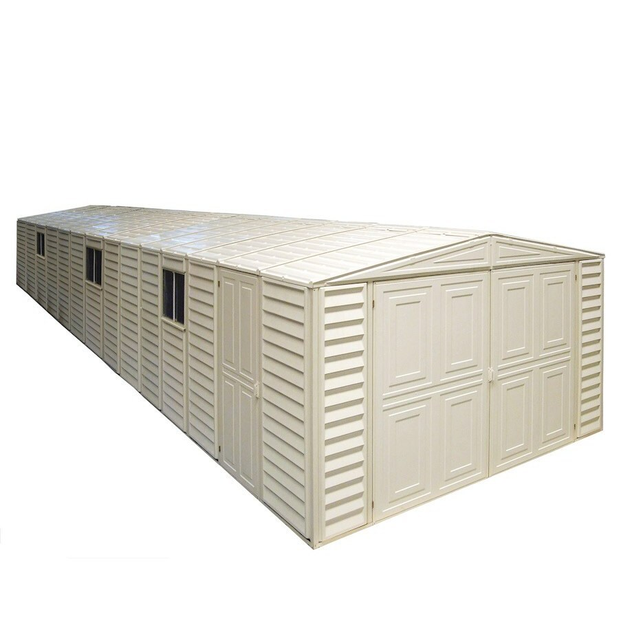DuraMax Building Products Storage Shed (Common: 10-ft x 31-ft; Actual Interior Dimensions: 10.46-ft x 31-ft)