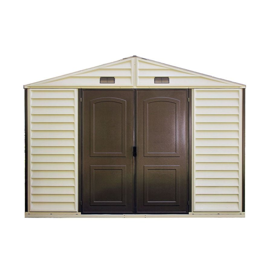 Shop duramax building products storage shed common 10 ft for Building a storage shed