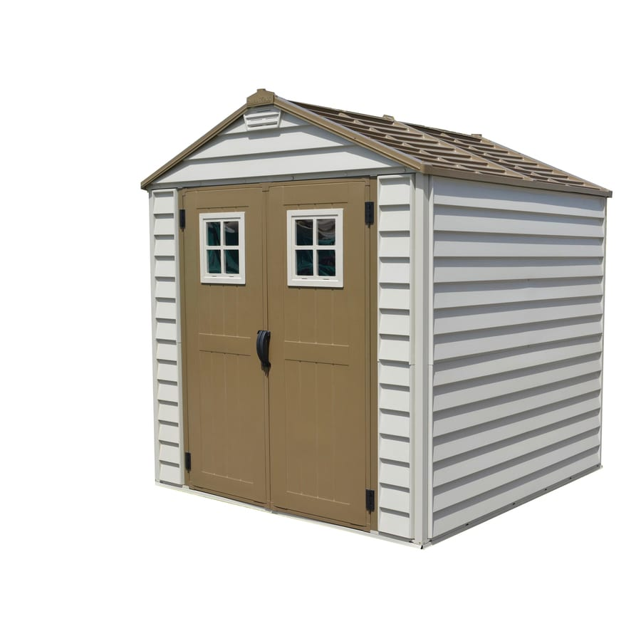DuraMax Building Products (Common: 7-ft x 7-ft; Actual Interior Dimensions: 6.39-ft x 6.56-ft) StoreMax Storage Shed