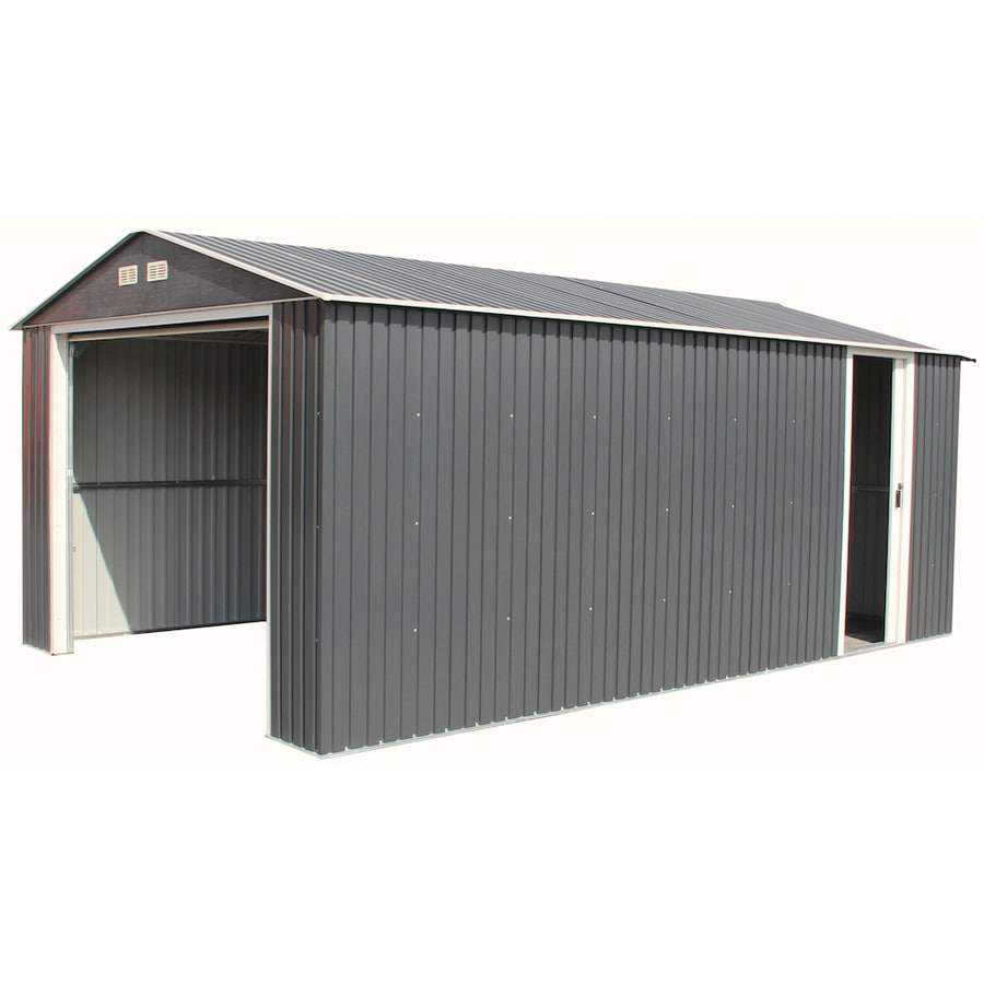 Shop duramax building products common 12 ft x 20 ft for Single garage