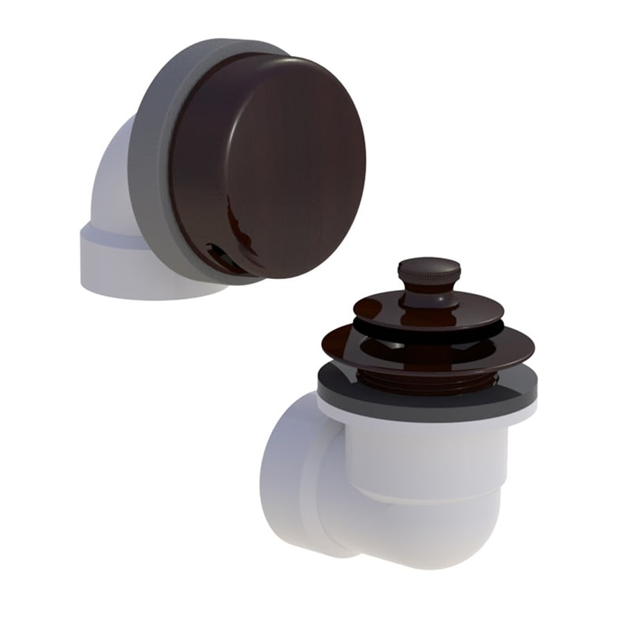 WATCO 1-1/2-in Oil-Rubbed Bronze Roller Ball with PVC Pipe