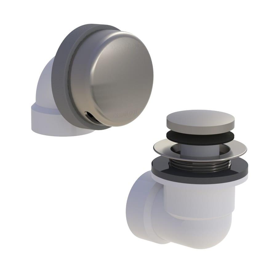 WATCO 1-1/2-in Brushed Nickel Foot Lock PVC Pipe
