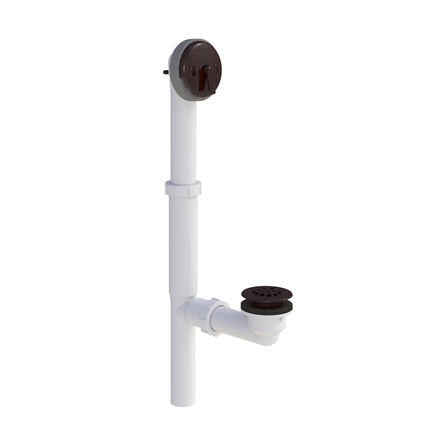 WATCO 1-1/2-in Oil-Rubbed Bronze Triplever with PVC Pipe