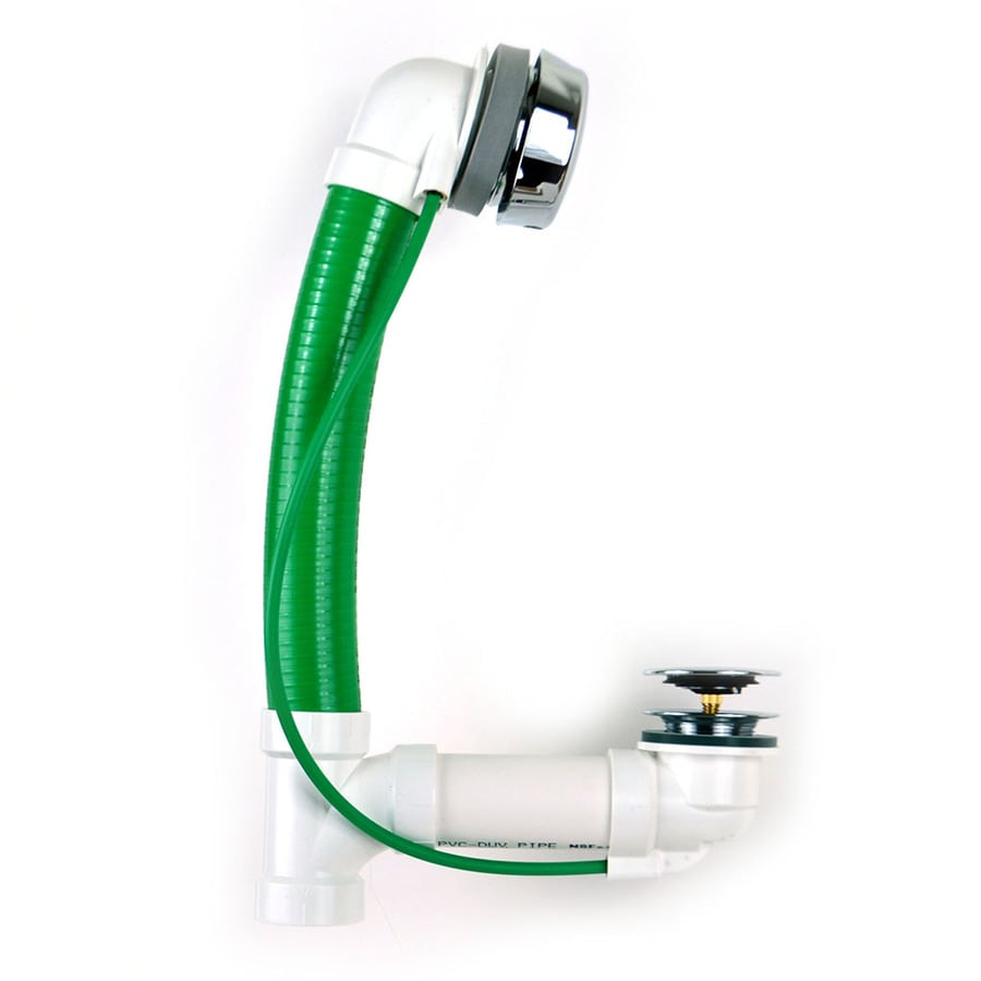Shop Watco 1 In Chrome Cable Drive Drain With Pvc Pipe At