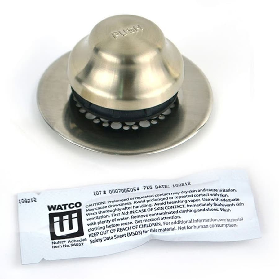 WATCO Brushed Nickel Plastic Closure Assembly