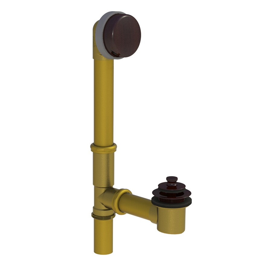 WATCO 1-1/2-in Oil-Rubbed Bronze Roller Ball with Brass Pipe
