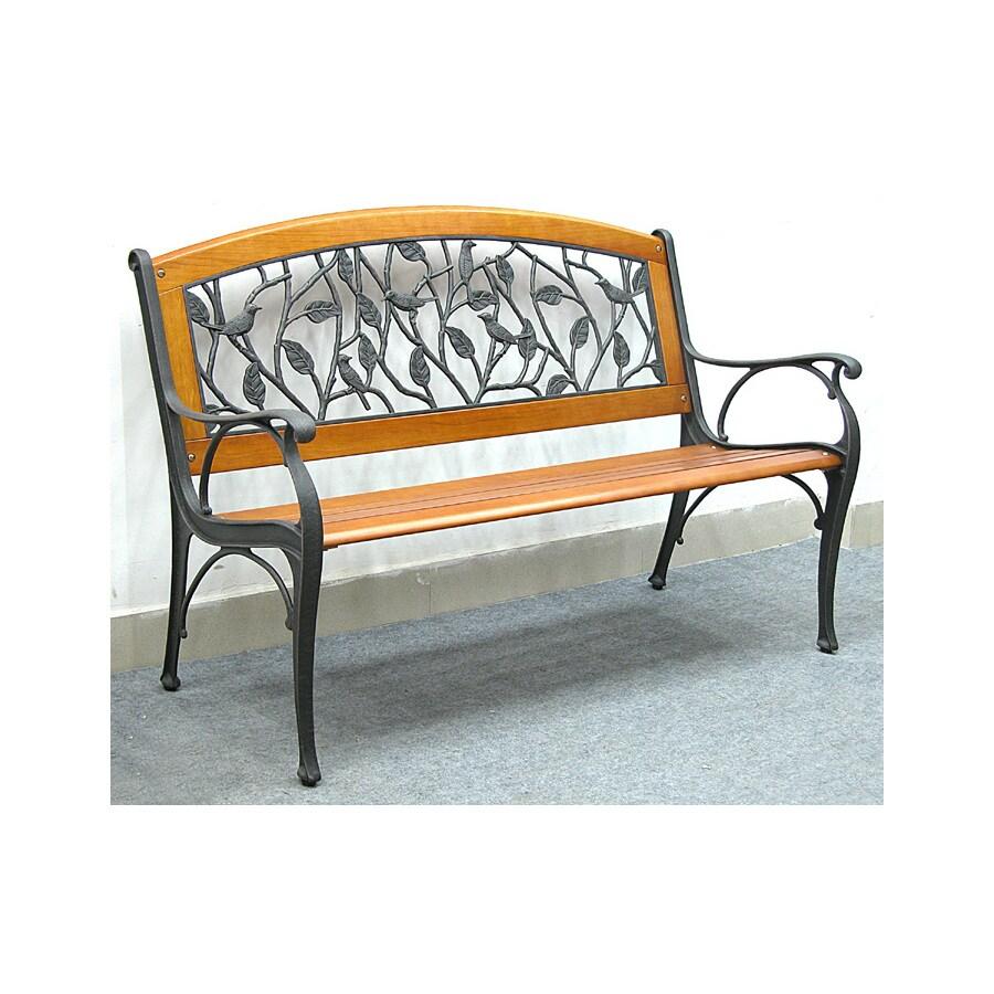 Genial Garden Treasures 35 In L Steel/Iron Patio Bench