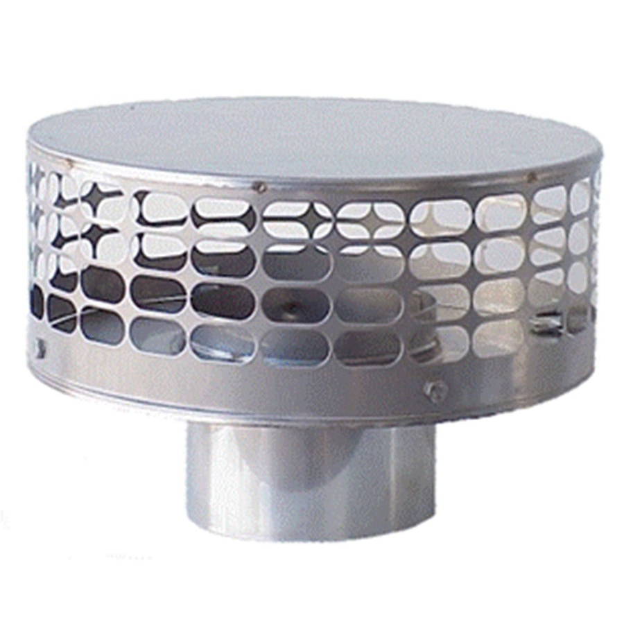 The Forever Cap 5-in W x 5-in L Stainless Steel Round Chimney Cap