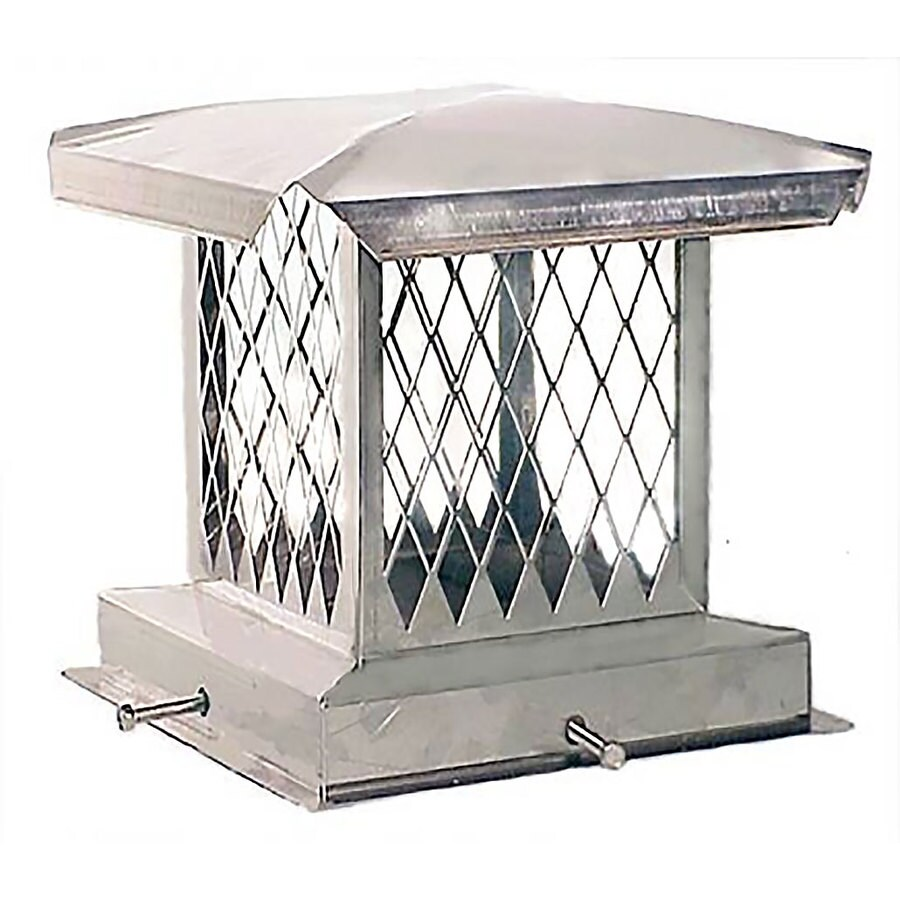The Forever Cap 9-in W x 18-in L Stainless Steel Rectangular Chimney Cap