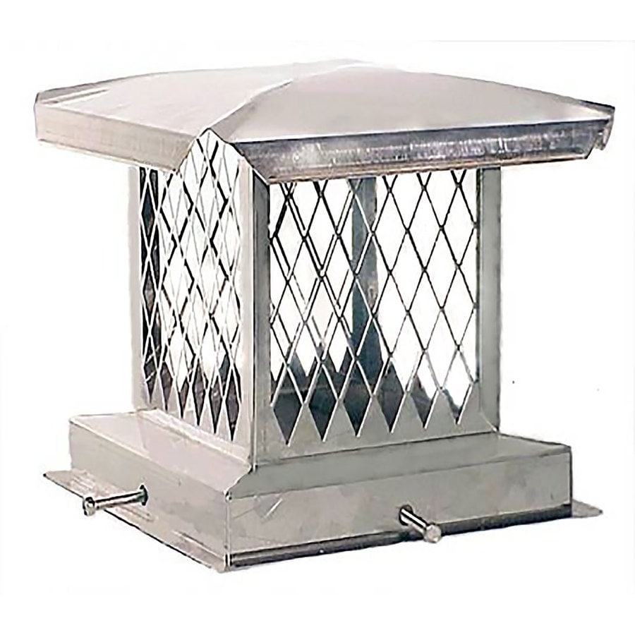 The Forever Cap 15.5-in W x 15.5-in L Stainless Steel Square Chimney Cap