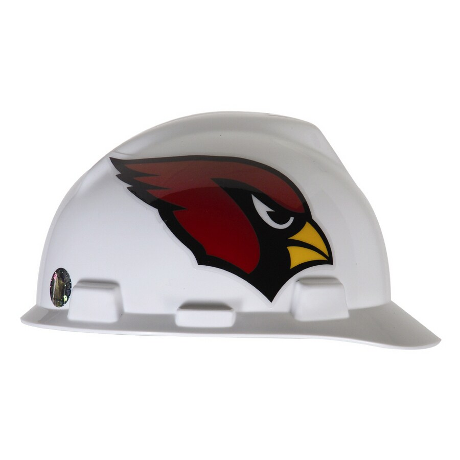 MSA Safety Works Standard Size Arizona Cardinals NFL Hard Hat