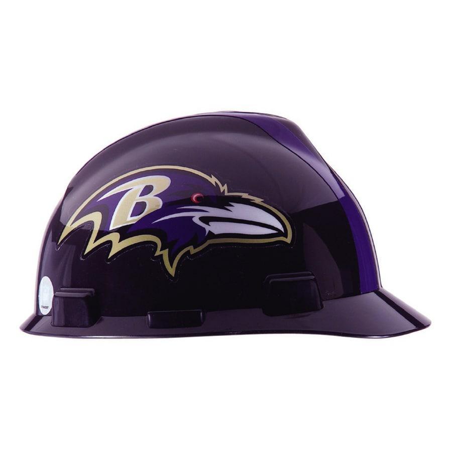 MSA Safety Works Baltimore Ravens NFL Hard Hat