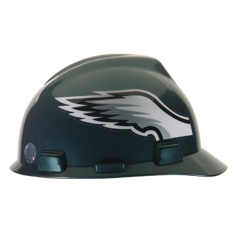 MSA Safety Works Standard Size Philadelphia Eagles NFL Hard Hat
