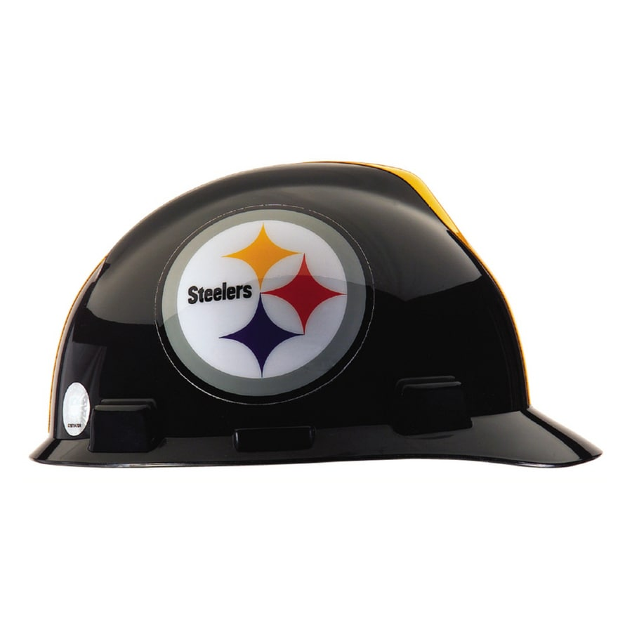 96a3a735149 MSA Safety Works Standard Size Pittsburgh Steelers NFL Hard Hat at ...