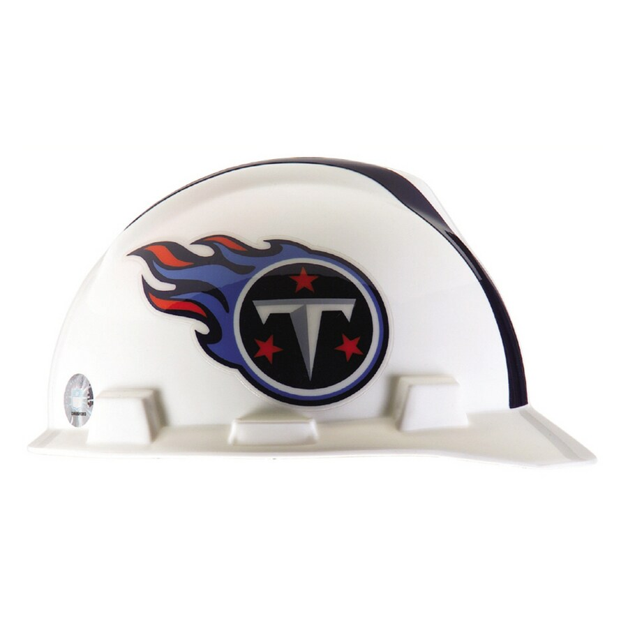 MSA Safety Works Standard Size Tennessee Titans NFL Hard Hat