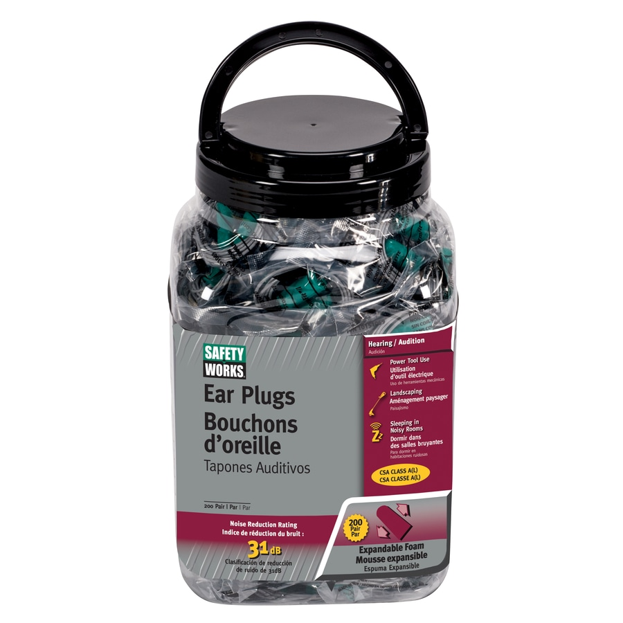 Safety Works Ear Plugs
