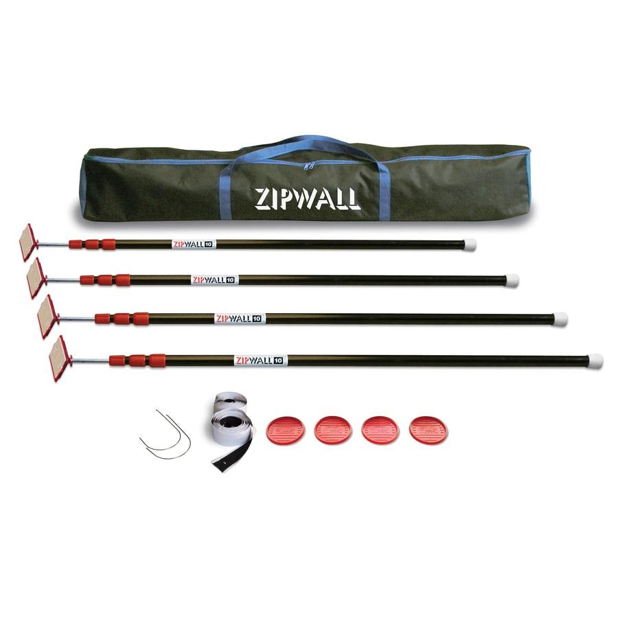 ZipWall 4-Pole Dust Barrier Wall Kits