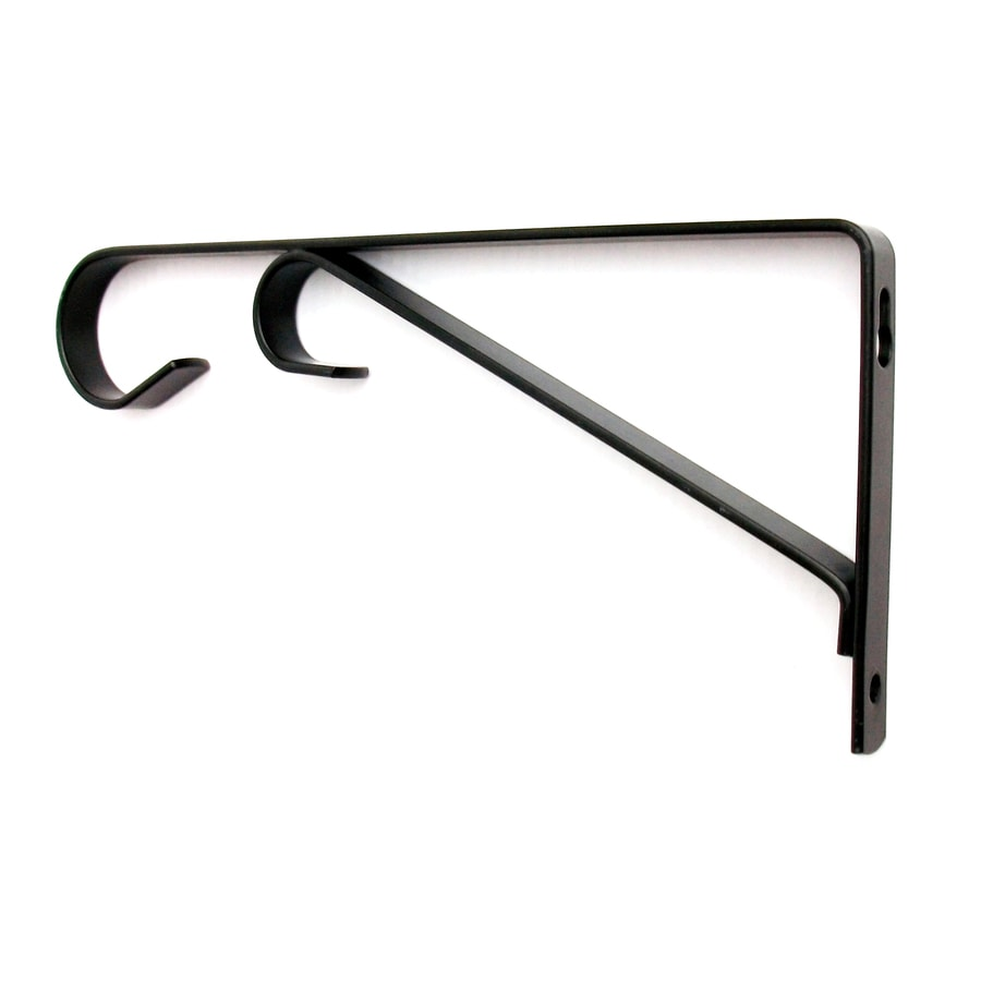 Patio Life 9.1-in Black Steel Traditional Plant Hook
