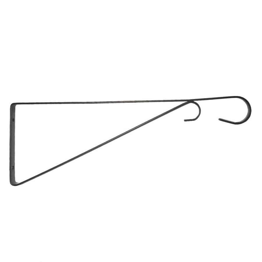 Patio Life 15-in Black Steel Traditional Plant Hook