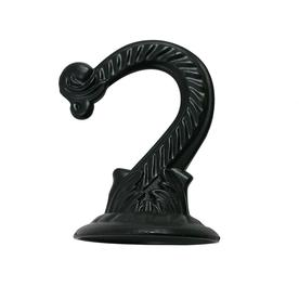 Patio Life 2 25 In Black Steel Traditional Plant Hook