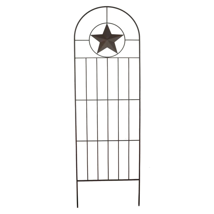 Patio Life 24-in W x 79-in H Black Garden Trellis