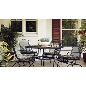 Garden Treasures Davenport Round Dining Table 48 In W X 48