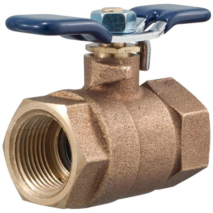 FEBCO 1-in Bronze Female In-Line Ball Valve
