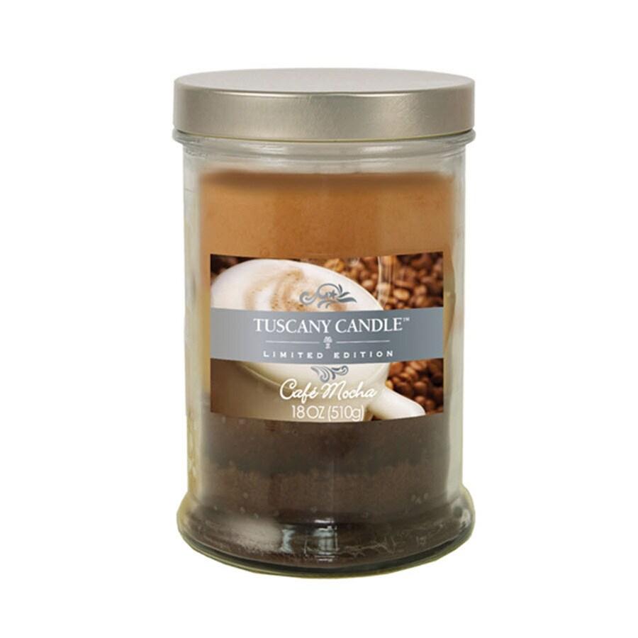 Tuscany 18-oz SugCook/ShimSpruce/CafeMocha 2-Wick Thanksgiving Jar Candle