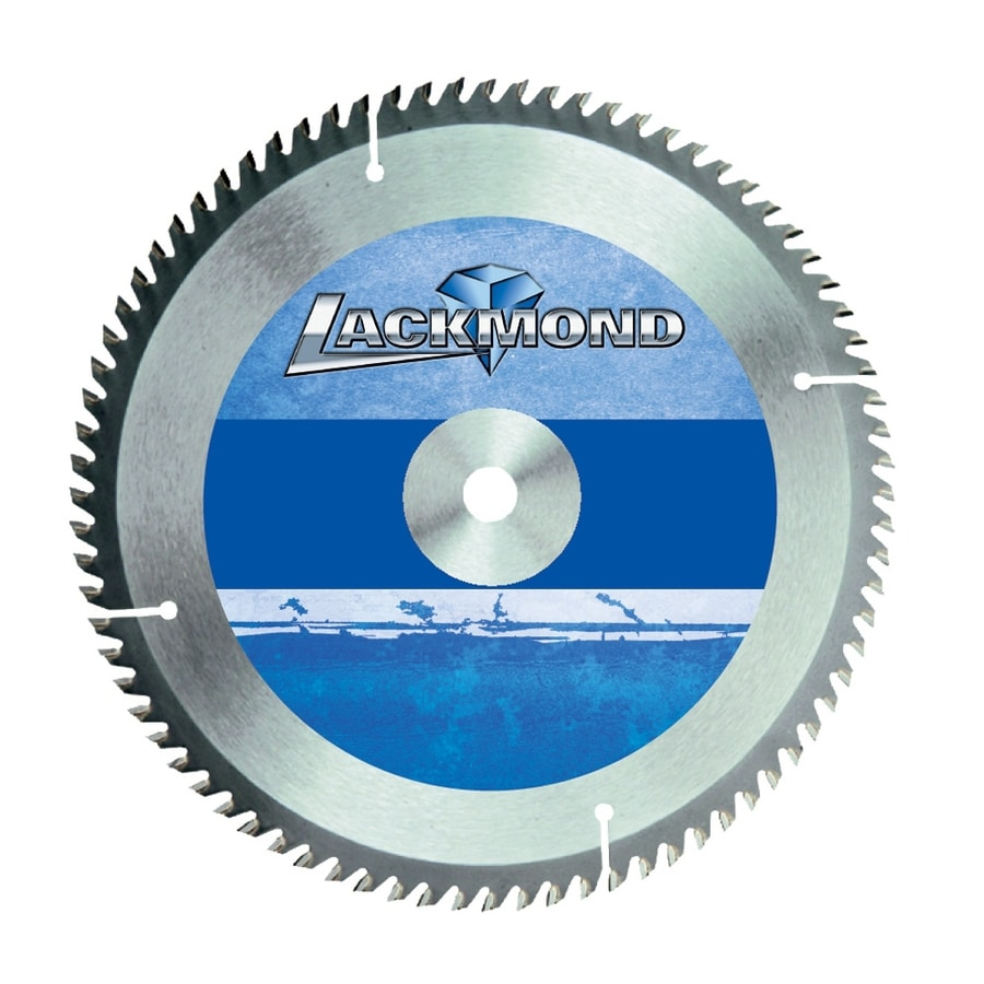 Lackmond 10-in 60-Tooth Segmented Carbide Circular Saw Blade
