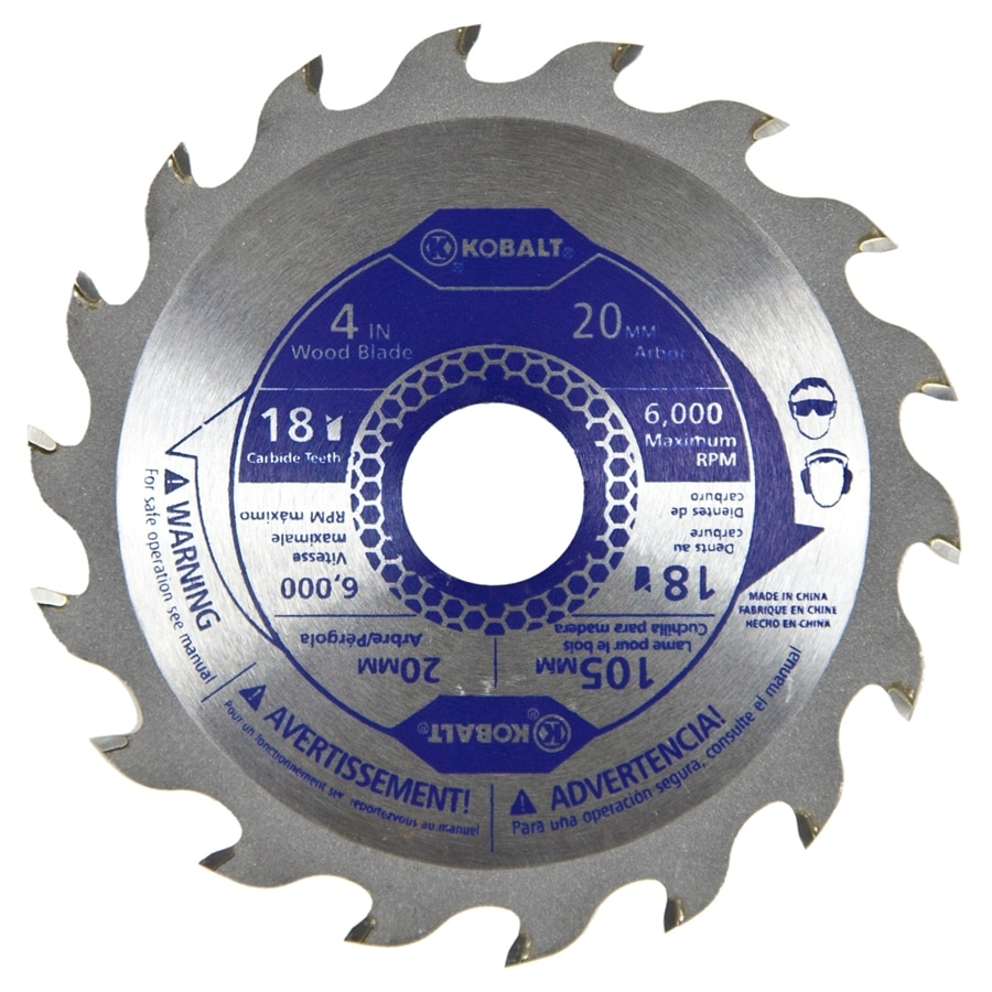 Kobalt 4-in 18-Tooth Segmented Carbide Circular Saw Blade
