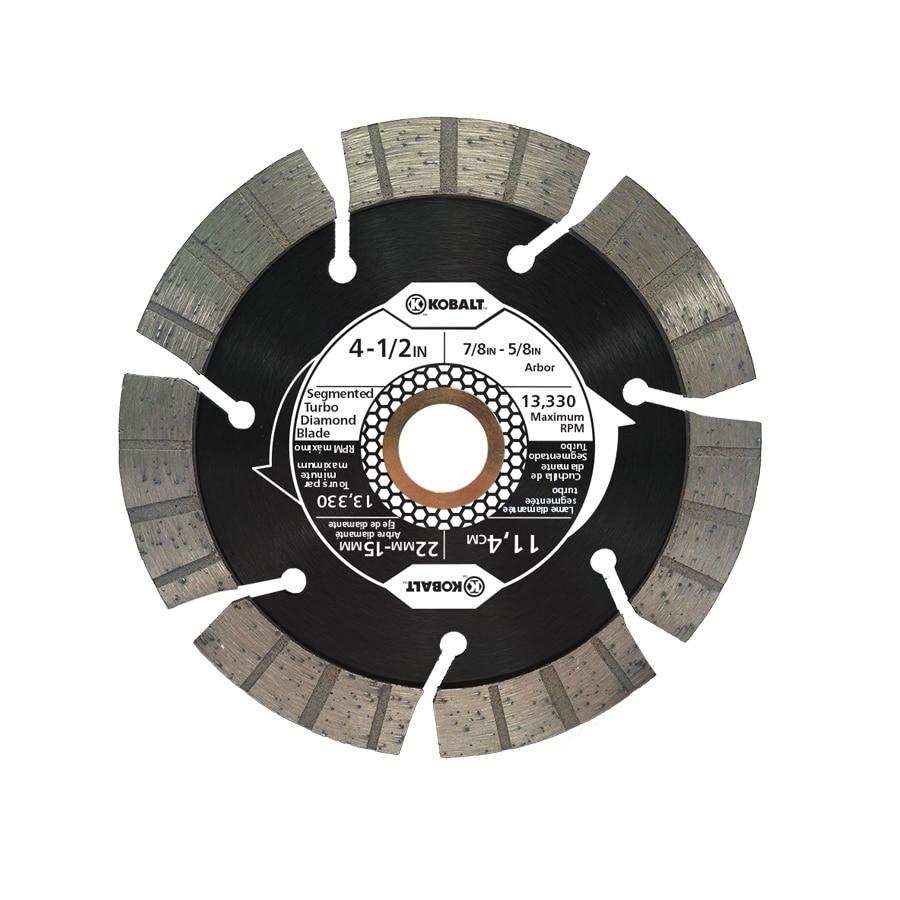 Kobalt 4-1/2-in Wet or Dry Segmented Circular Saw Blade