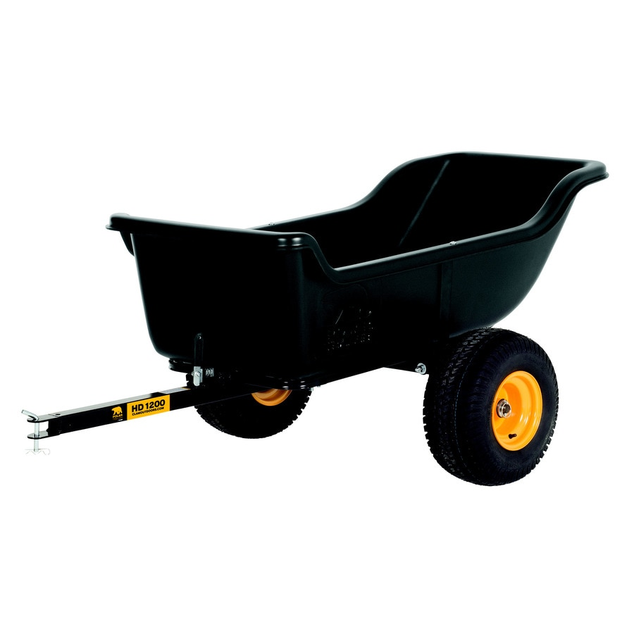Polar 15-cu ft Plastic Dump Cart
