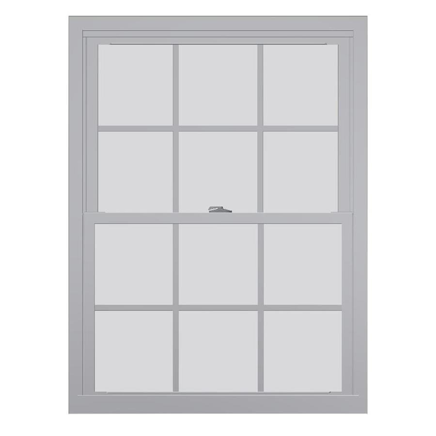 United Series 4800 4800 Series Vinyl Double Pane Single Strength Replacement Double Hung Window (Rough Opening: 30-in x 36-in Actual: 29.75-in x 35.5-in)