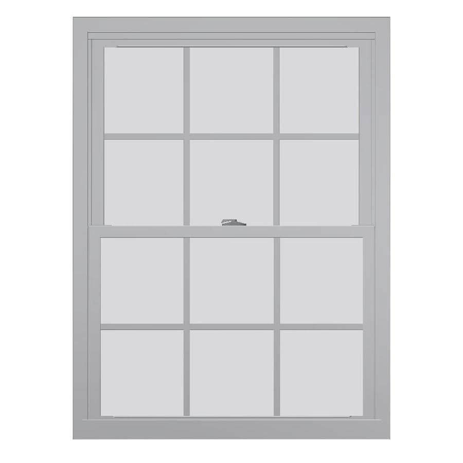 United Series 4800 4800 Series Vinyl Double Pane Single Strength Replacement Double Hung Window (Rough Opening: 32-in x 62-in Actual: 31.75-in x 61.5-in)