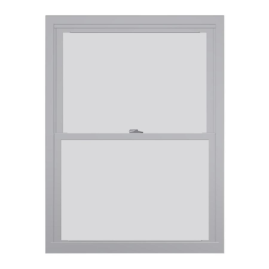 United Series 4800 4800 Series Vinyl Double Pane Single Strength Replacement Double Hung Window (Rough Opening: 24-in x 38-in; Actual: 23.75-in x 37.5-in)