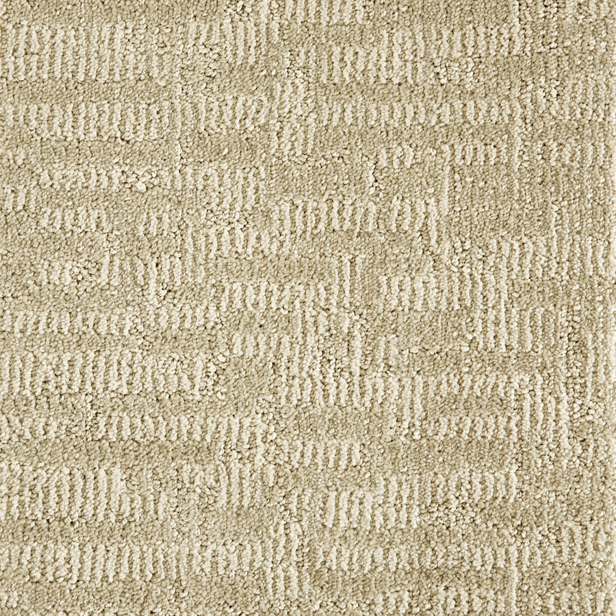 STAINMASTER PetProtect 12-ft W x Cut-to-Length Biscuit 84402 Pattern Interior Carpet