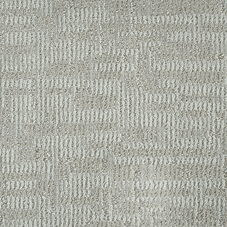 STAINMASTER PetProtect 12-ft W x Cut-to-Length Silver 84404 Pattern Interior Carpet
