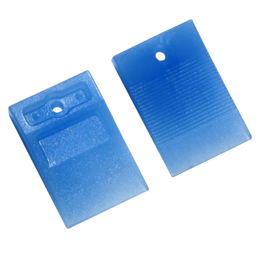 TAVY 100-Pack 1-in W x 1-in L 3/16-in Blue Plastic Tile Spacer