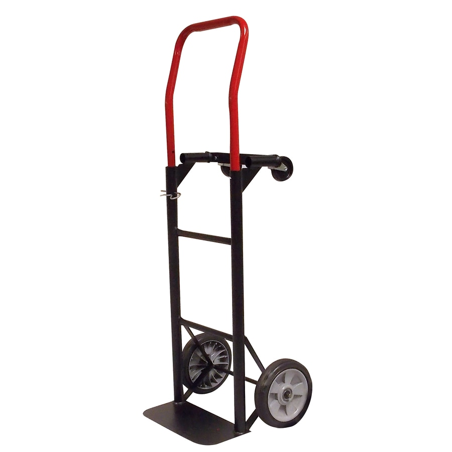 Milwaukee 300-lb Capacity Red Steel Convertible Hand Truck