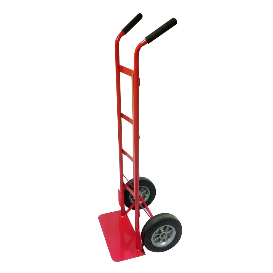 Milwaukee 800-lb Capacity Red Steel Standard Hand Truck
