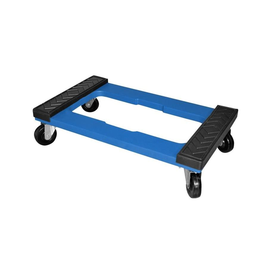 Milwaukee 1000 Lb 4 Wheel Blue Resin Dolly At Lowes Com
