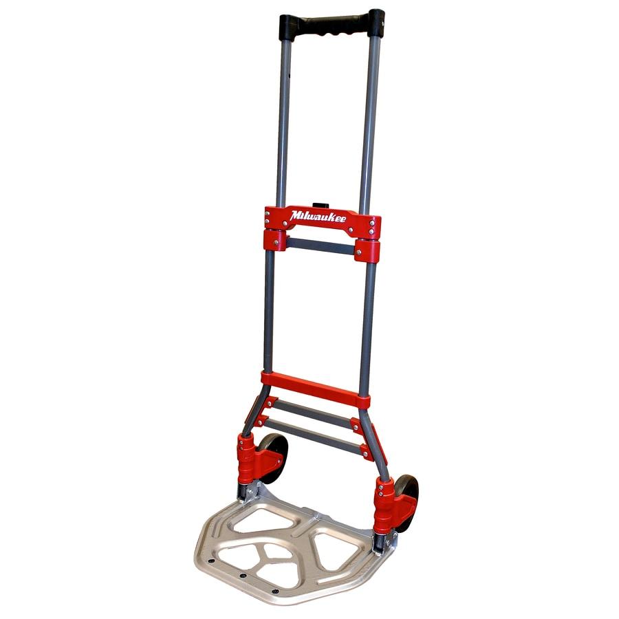 Shop Milwaukee 150 Lb Capacity Red Steel Folding Hand