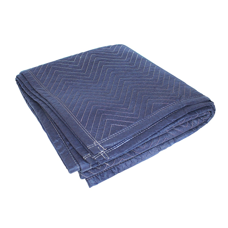 Blue Hawk 80 In L X 72 W Cotton Moving Blanket