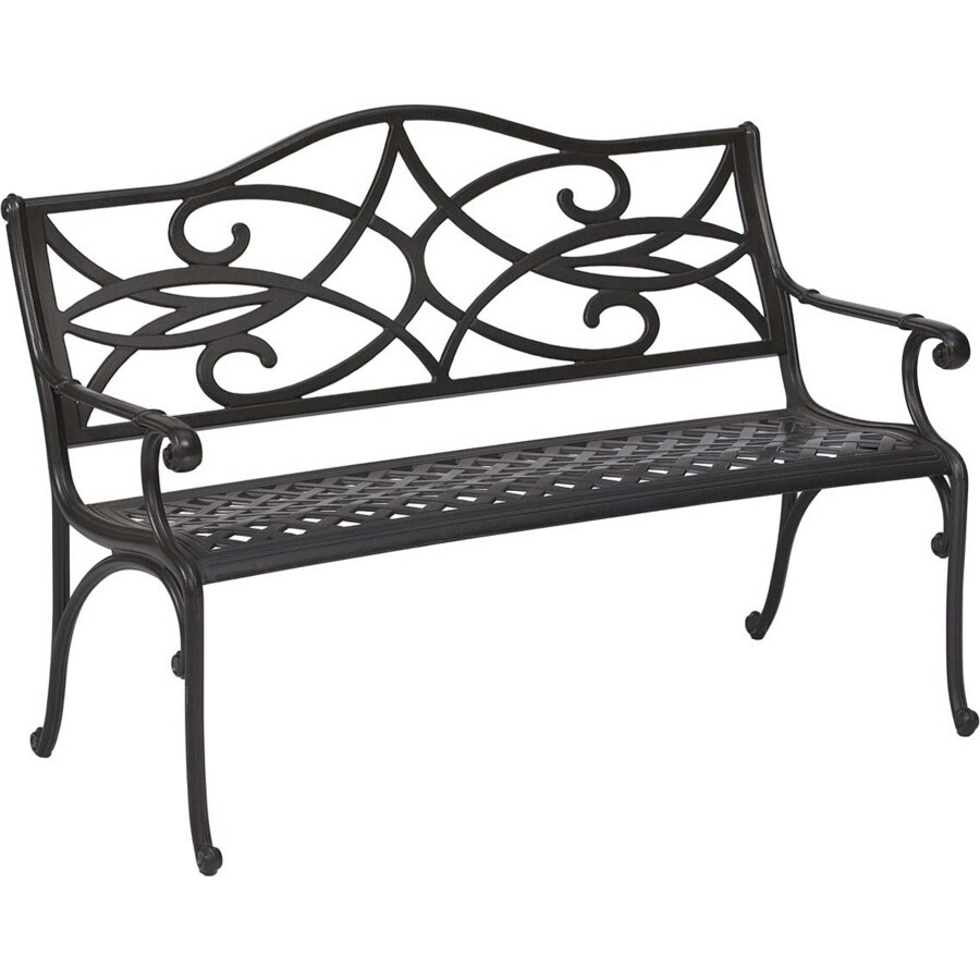 Superieur Garden Treasures 35.5 In L Aluminum Patio Bench