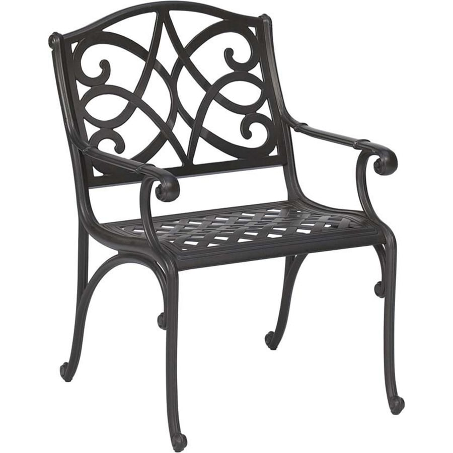 Cast Aluminum Patio Furniture Heart Pattern: Garden Treasures Waterbridge Mesh-Seat Aluminum Patio
