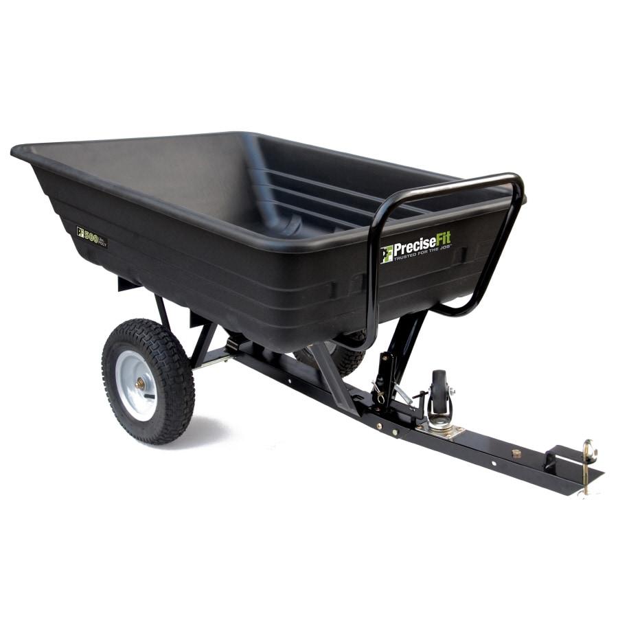 PreciseFit 8-cu ft Plastic Dump Cart